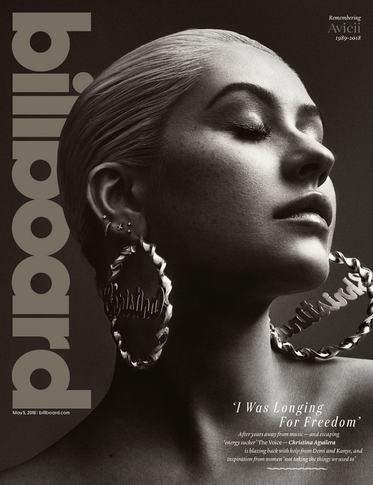 Кристина Агилера на обложке Billboard Magazine