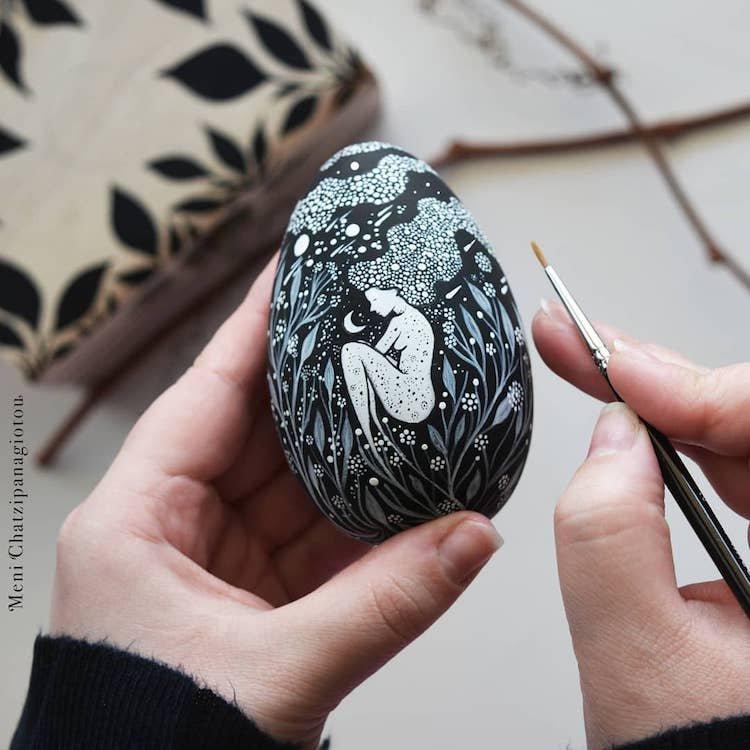 Волшебный мир графических миниатюр от греческой художницы