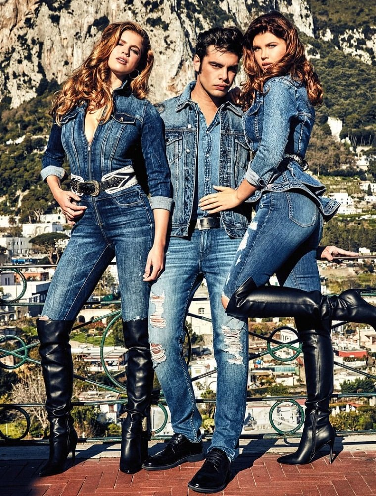 постеры джинсовой одежды человек утверждает