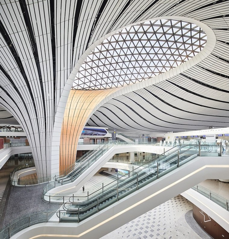 Пекин Дасин – самый большой аэропорт с единым терминалом