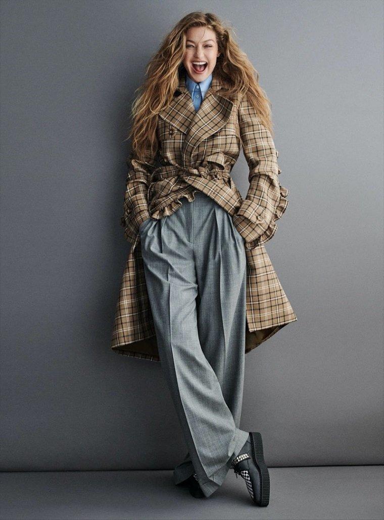 Джиджи Хадид в модной одежде от Michael Kors