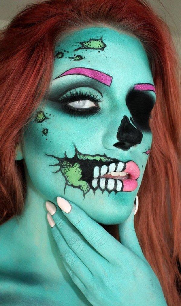12 фантастических идей макияжа к Хэллоуину