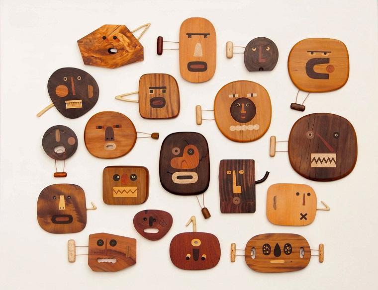 Забавные handmade фигурки из дерева by Jui-Lin Yen