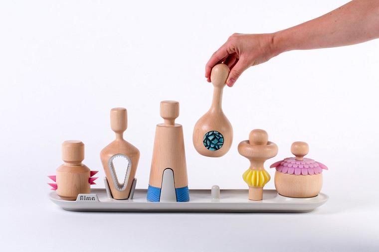 Набор handmade игровых фигурок для работы детьми