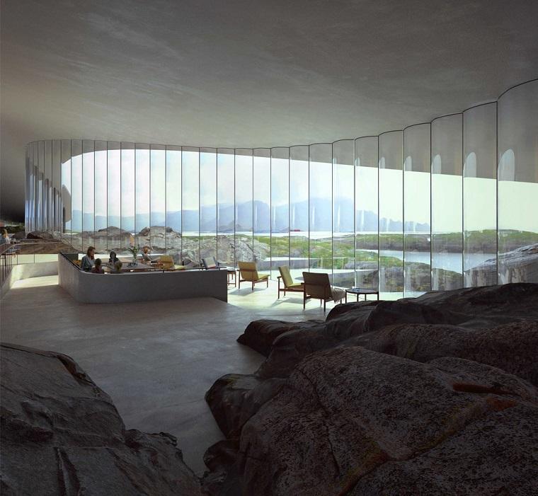 Уникальный комплекс в форме кита на севере Норвегии