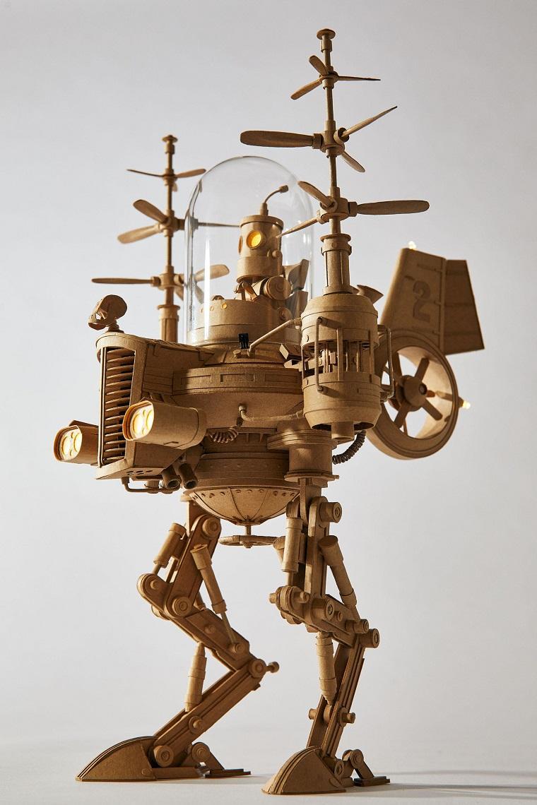 Фантастические handmade скульптуры из картона by Greg Olijnyk