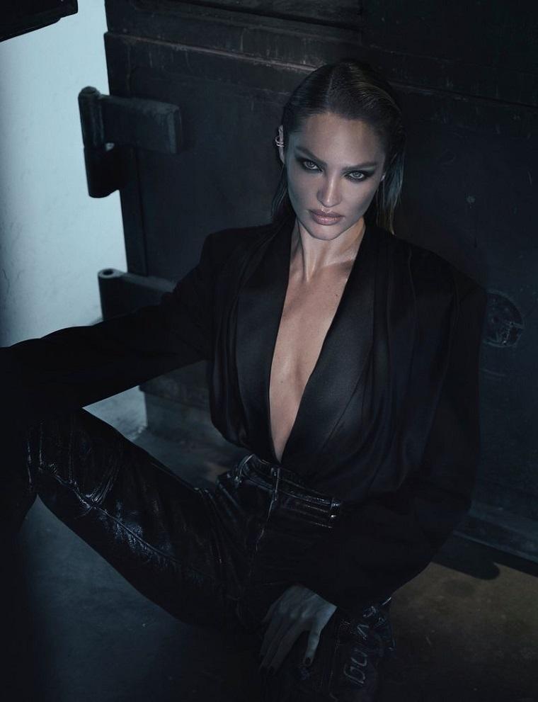 Из ангела в роковые женщины - Кэндис Свейнпол на обложке Harpers Bazaar