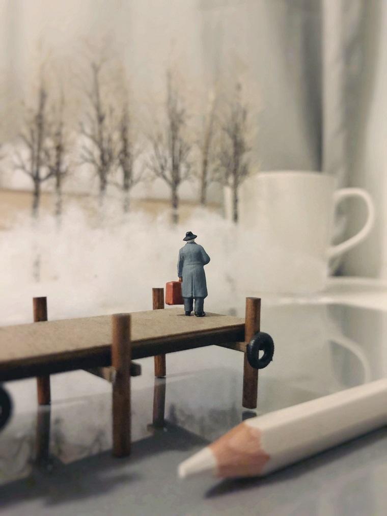 Миниатюрный мир ручной работы by Derrick Lin