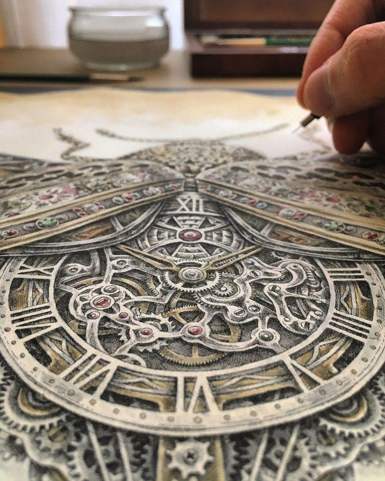 Потрясающая прорисовка деталей в картинах by Steeven Salvat